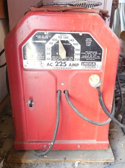 ac 225 lincoln welder. 225 AMP LINCOLN ELECTRIC ARC WELDER Ac Lincoln Welder