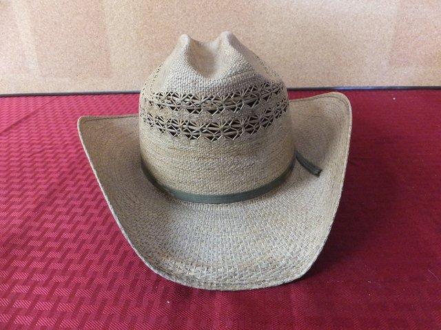Lot Detail - BAILEY STRAW COWBOY HAT 0c6acb1caa4