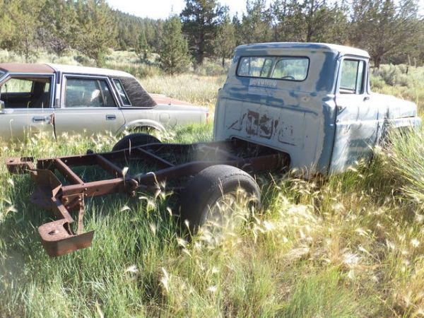 Lot Detail OLD FORD TRUCK NO BED NON OP ALTURAS PICK