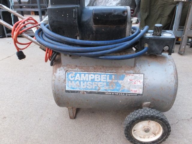 campbell hausfeld air compressor issues