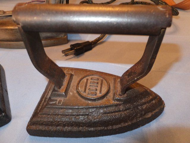 Antique Electric Irons ~ Lot detail antique flat irons a vintage electric iron
