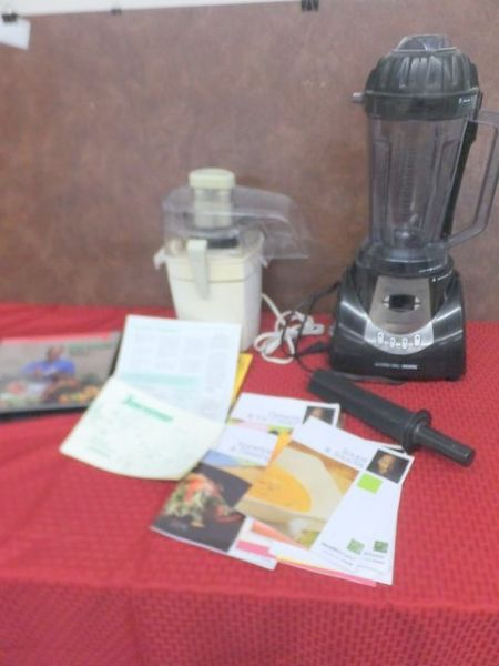 Lot Detail Juiceman Juicer And Health Master Food Processor