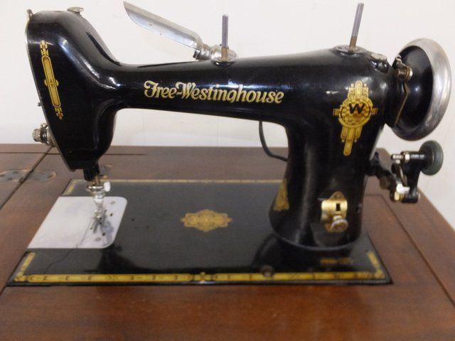 Lot Detail - FREE WESTINGHOUSE SEWING MACHINE