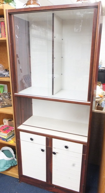 Lot Detail Tall Utility Cabinet