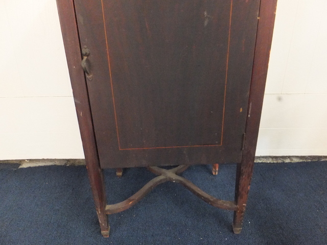 ... ANTIQUE SHEET MUSIC/ RECORD CABINET - Lot Detail - ANTIQUE SHEET MUSIC/ RECORD CABINET