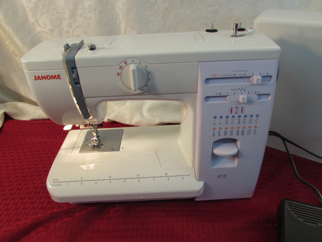 janome 415 sewing machine