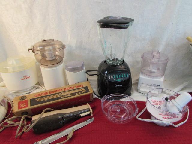 Dazey Fruit Juicer ~ Lot detail small kitchen appliances