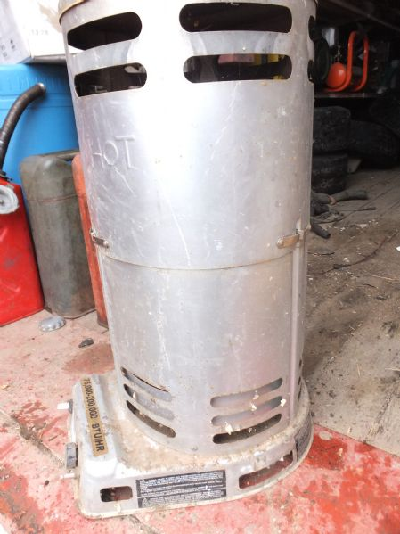 Lot detail propane space heater - Small propane space heater collection ...