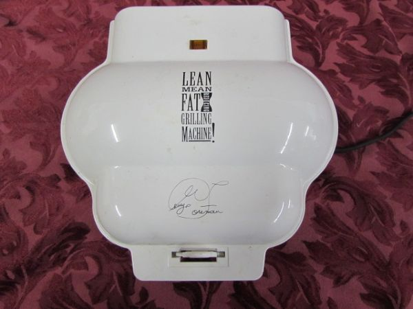 george foreman lean mean grilling machine manual