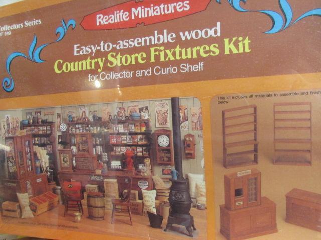 Lot Detail Dolls Miniature Doll House Furniture Kits