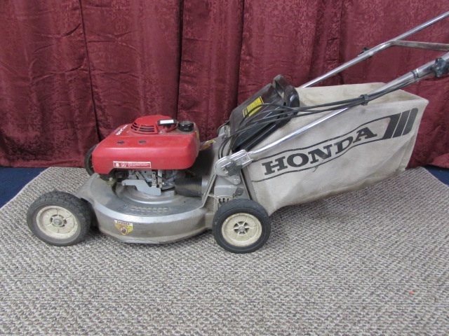 lawn stop gas honda walk propelled self behind speed roto s p in mower variable