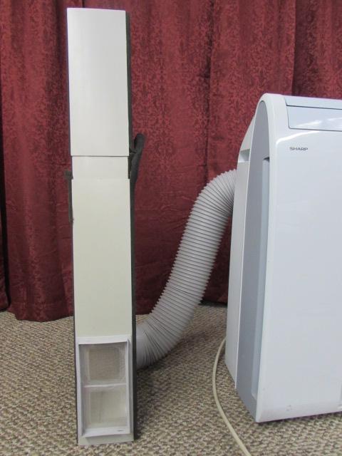SHARP PORTABLE AIR CONDITIONER 9500 BTU H