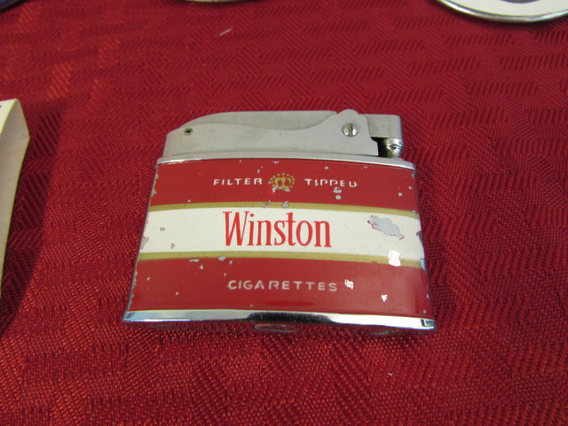 Lot Detail - MEN'S VALET VARIETY LOT-POCKET KNIFE, WINSTON