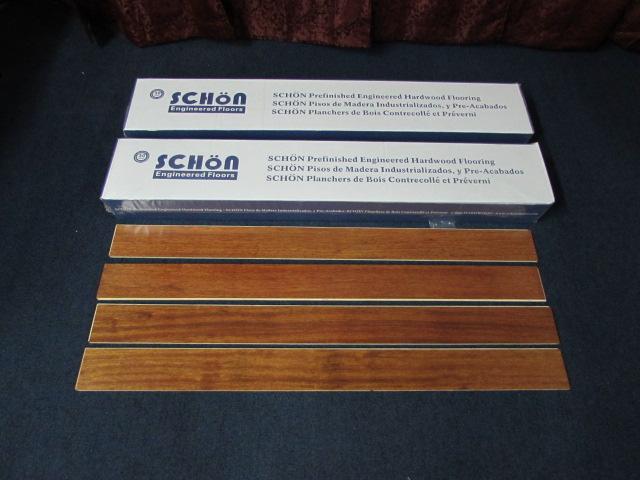 Lot Detail Schon Prefinished Engineered Hardwood Flooring