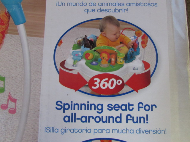 fisher price precious planet jumperoo instructions