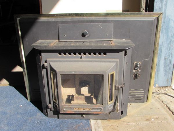 Lot Detail Jamestown Pellet Stove Fireplace Insert