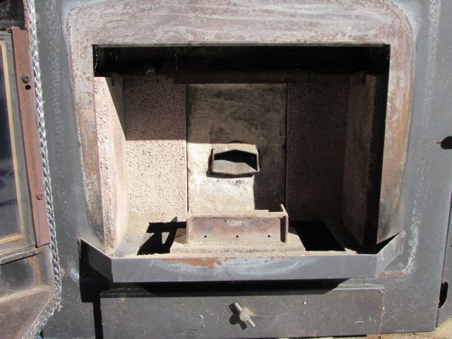 Lot Detail Jamestown Pellet Stove Fireplace Insert