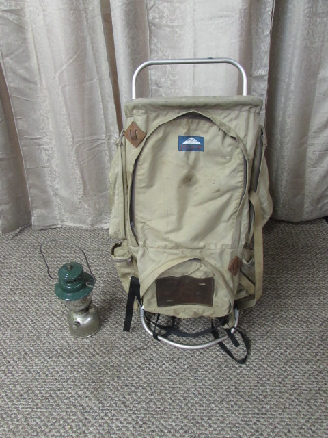 Lot Detail Vintage Coleman Lantern Backpack And Stove