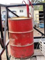 55 GALLON DRUM WITH HAND PUMP