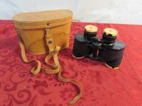 VIXEN BINOCULARS WITH LEATHER CASE