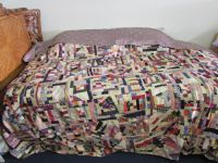 ANTIQUE CRAZY QUILT