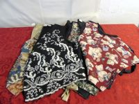 4 VERY PRETTY WOMENS VESTS