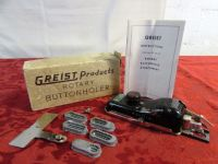 VINTAGE GREIST BUTTON HOLER