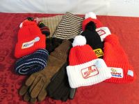 NEVER USED MENS COLLECTIBLE STOCKING CAPS, GLOVES & MUFFLER!
