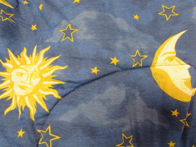 Top Lot Detail - TWIN SUN, MOON & STARS COMFORTER, SHEETS & COLEMAN  PE37
