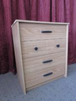 SMALL  FOUR DRAWER DRESSER