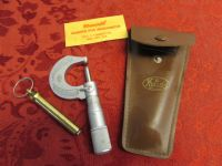 VINTAGE MICROMETER WITH CASE