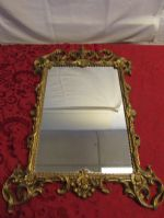 VINTAGE MIRROR BAROQUE STYLE FRAME