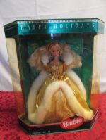 HAPPY HOLIDAYS BARBIE IN UNOPENED BOX