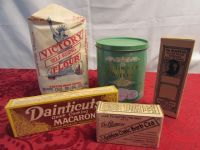 FABULOUS ANTIQUE TINS & PACKAGES