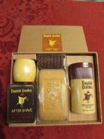 PAMPER YOUR GUY!  NEVER USED ENGLISH LEATHER GIFT SET, NEW BOXERS, PJS & SLIPPERS