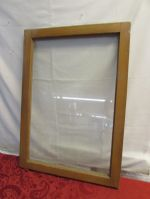 VINTAGE WOOD FRAMED WINDOW - READY FOR DECORATIONS!