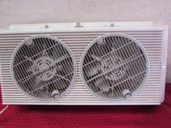 Holmes Window Fan : Lot detail holmes air window fan