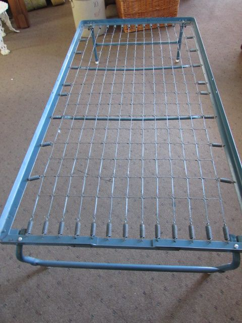 Fold Up Twin Size Spring Bed Frame