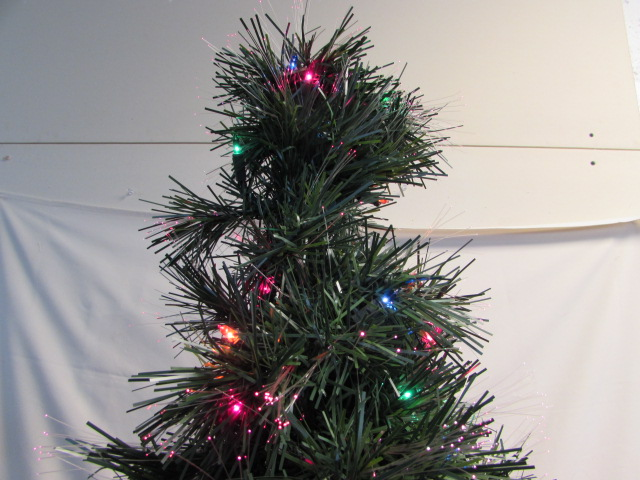 "BRIGHT & CHEERFUL 48"" FIBER OPTIC CHRISTMAS TREE"
