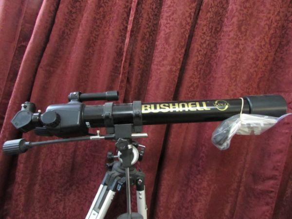 bushnell 565 telescope instruction manual