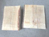 TWO LARGE OAK SLABS FOR YOUR LATHE PROJECTS OR OTHER WOODWORK