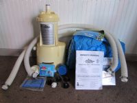 INTEX THE WET SET ABOVE GROUND POOL PUMP AND POOL PARTS