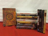 OVER 15 GREAT DVDS - SOME DOUBLE DISC SETS
