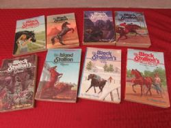 SET OF 8 SOFT COVER BLACK STALLION BOOKS BY WALTER FARLEY