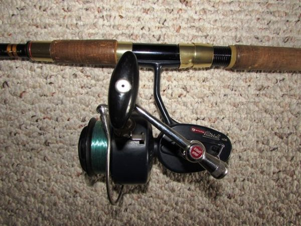 Lot detail garcia conolon fishing rod with garcia for Mitchell fishing rod