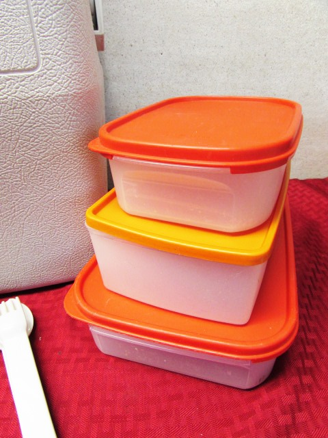 gear 2 coleman ice chests tupperware containers u0026 mixing bowls