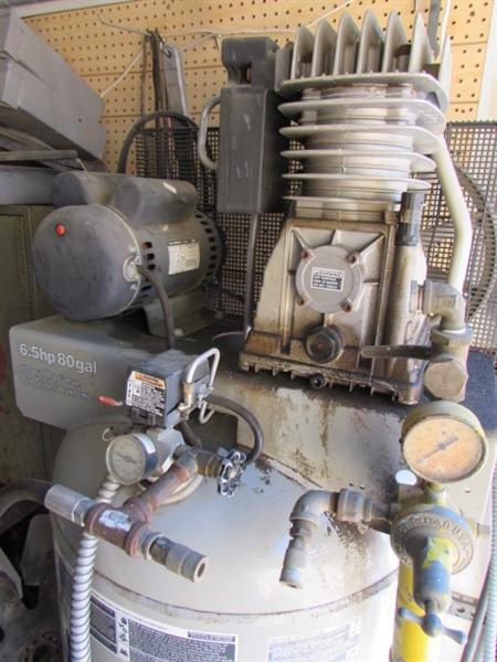 Lot Detail One Big A Industrial Air Compressor Quot Air