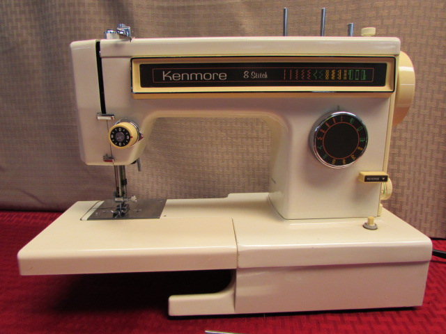 Lot Detail NICE KENMORE 40 STITCH SEWING MACHINE WITH FOOT PEDAL Magnificent Kenmore Sewing Machine Accessories