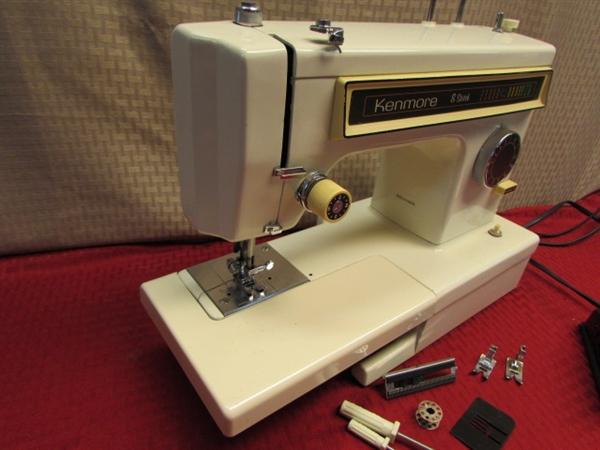 kenmore 24 stitch sewing machine manual