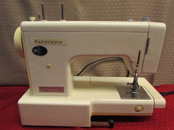 kenmore 8 stitch sewing machine manual 13450
